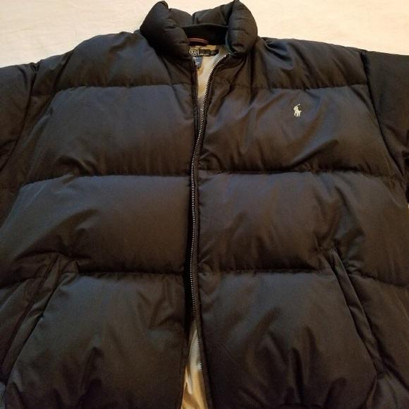 2c70f61d Men's Polo Ralph Lauren Black Puffer Down Jacket